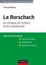 Le Rorschach en clinique de l'enfant et de l'adolescent
