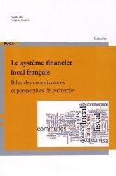 Le système financier local français