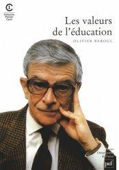 Les valeurs de l'éducation