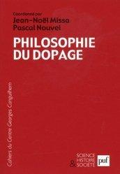 Les Cahiers du Centre Georges-Canguilhem N° 5 : Philosophie du dopage