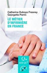 Le métier d'infirmière en France