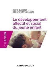 La couverture et les autres extraits de Le développement affectif et social du jeune enfant