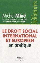 La couverture et les autres extraits de Le droit du travail en pratique. 24e édition revue et augmentée