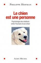 Le chien est une personne