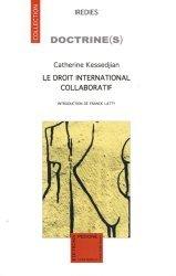 Le droit international collaboratif