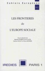 Les frontières de l'Europe sociale