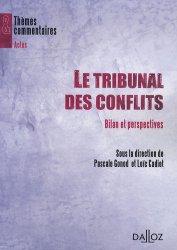 Le Tribunal des conflits. Bilan et perspectives