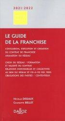 Le guide de la franchise. Edition 2020