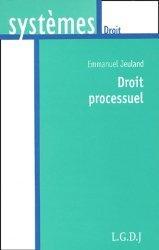 Le droit processuel