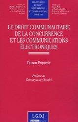 Le droit de la concurrence et les communication électroniques