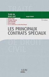 Les principaux contrats spéciaux. 3e édition