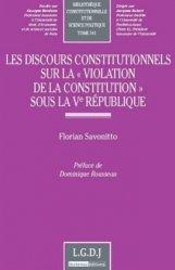 Les discours constitutionnels sur la