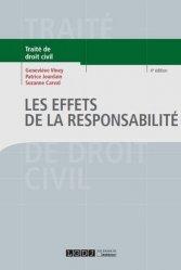 Les effets de la responsabilité. 4e édition