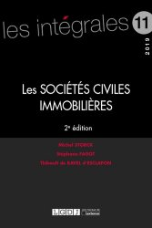 La couverture et les autres extraits de Société civile immobilière. Mode d'emploi, Edition 2017-2018