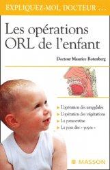 Les opérations ORL de l'enfant