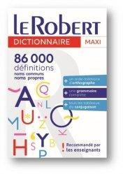 Le Robert Maxi Langue Française