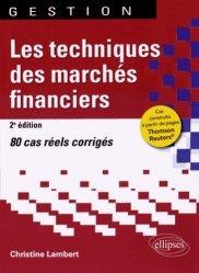 Les techniques des marchés financiers