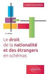 Le droit de la nationalité et des étrangers en schémas