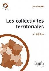 Les collectivités territoriales. 4e édition