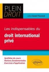 Les indispensables de droit international privé