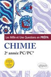 La couverture et les autres extraits de Chimie MP MP* PSI PSI* PT PT*