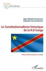 Le constitutionnalisme historique de la R.D Congo