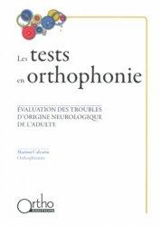 Les tests en orthophonie