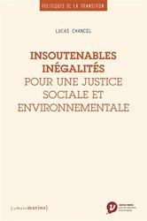 Les inégalites environnementales