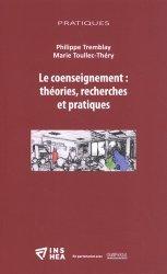Le coenseignement : théories, recherches et pratiques