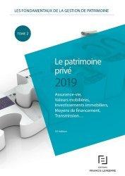 La couverture et les autres extraits de Les fondamentaux de la gestion de patrimoine. Tome 2, Le patrimoine professionnel, Edition 2020