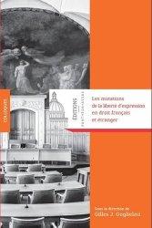 Les mutations de la liberté d'expression en droit francais et étranger
