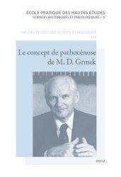 Le concept de pathocénose de M.D. Grmek