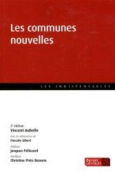 Les communes nouvelles. 2e édition