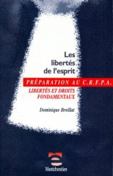 Les libertés de l'esprit. Libertés et droits fondamentaux