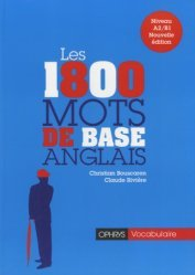 Les 1800 mots de base en anglais