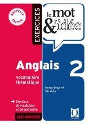 Le mot et l'idée 2 - Anglais