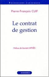 Le contrat de gestion