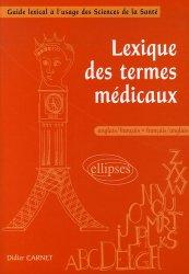 Lexique des termes médicaux anglais-français/français-anglais