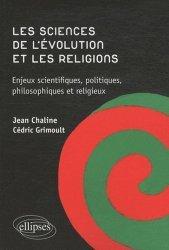 Les sciences de l'évolution et les religions