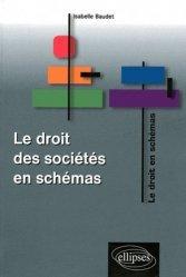 La couverture et les autres extraits de Le droit des sociétés en schémas. 4e édition