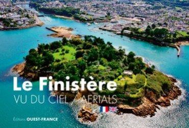 Le Finistère vu du ciel