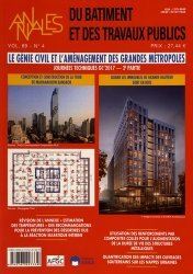 Le génie civil et l'aménagement des grandes métropoles