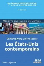 A paraitre dans Anglais, Les Etats-Unis contemporains / Contemporary unites states