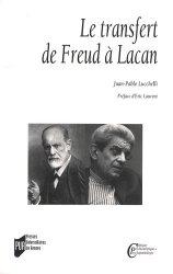 Le transfert. De Freud à Lacan