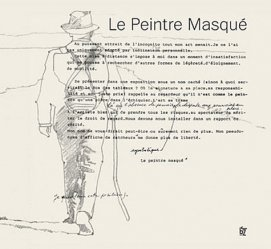 Le peintre masqué