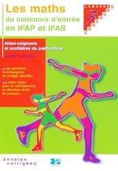 Les maths du concours d'entrée en IFAP et IFAS