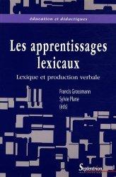 Lexique et production verbale