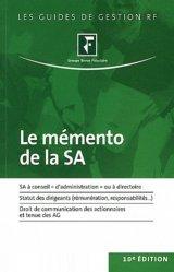 La couverture et les autres extraits de Le mémento de la SA