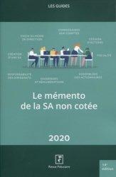 La couverture et les autres extraits de Epargne salariale et actionnariat salarié. Edition 2020