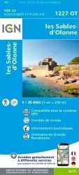 Les Sables-d'Olonne. 1/25 000, 4e édition
